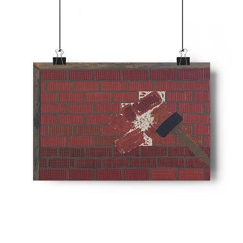 Wall of shame - Giclée Art Print