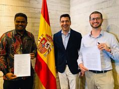 MOU Signing Jumapanilo Spain & Uniworld Malaysia