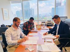 MOU Reading & Signing Jumapanilo & Uniworld