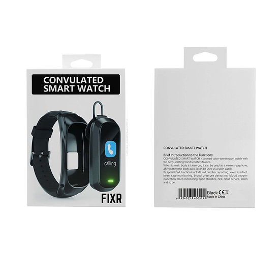 Convulated Smart Watch (Fixr Watch)