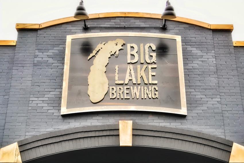 Big Lake Sign
