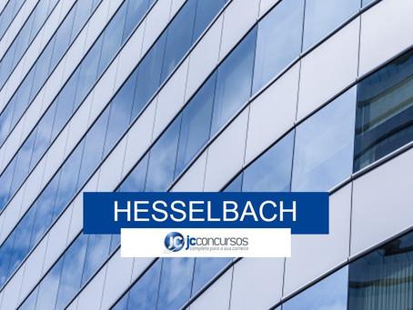 Hesselbach Company inscreve para Programa de Estágio 2020