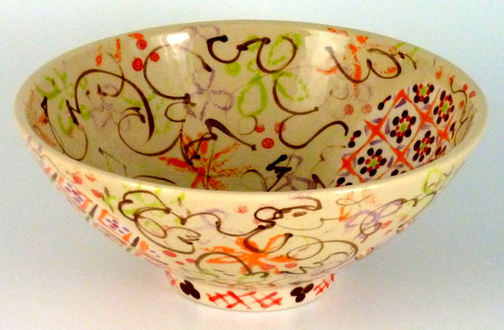 Anne Mulvihill Bowl for Holiday Show Flyer (18Sept15)