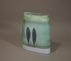 Anne Mulvihill Flat Vase 2 (11Nov12) AHickman
