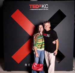 TEDxKC 2015 JFM & Anne at the Kauffman Center (29Aug15)