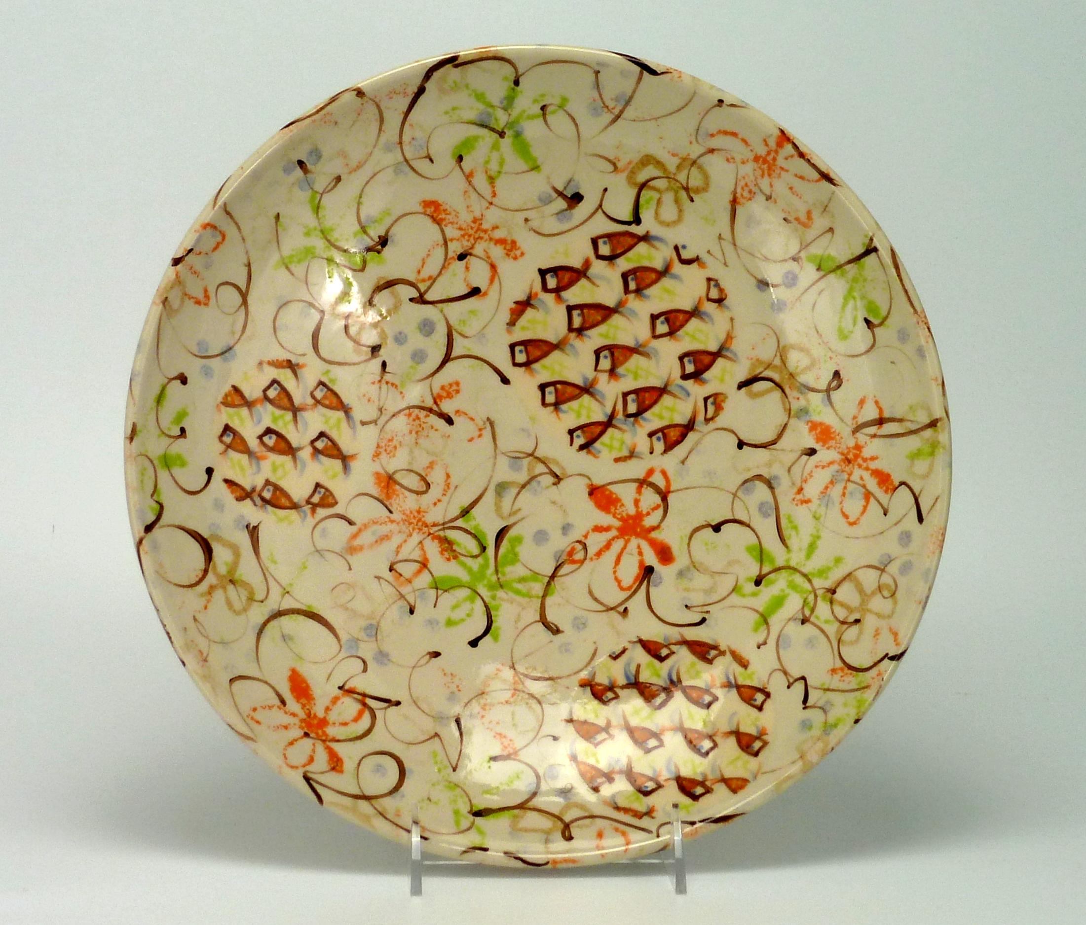 Anne eRafter Round Platter