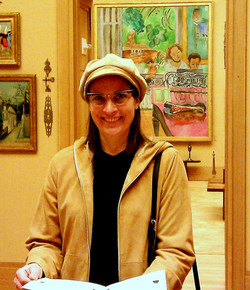 Anne at Barnes Foundation Philly (Dec 2012)
