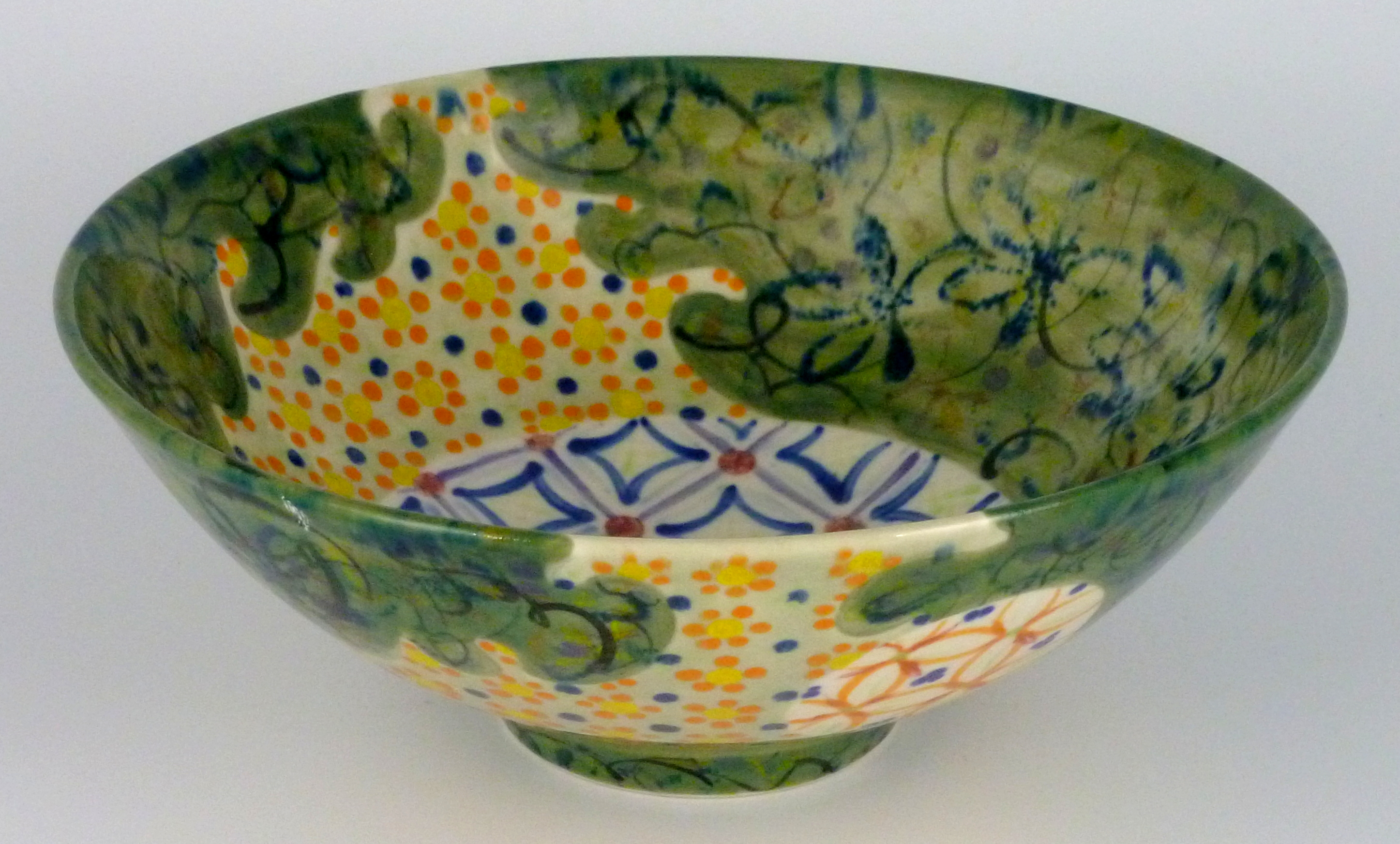 Anne eRafter Bowl large green
