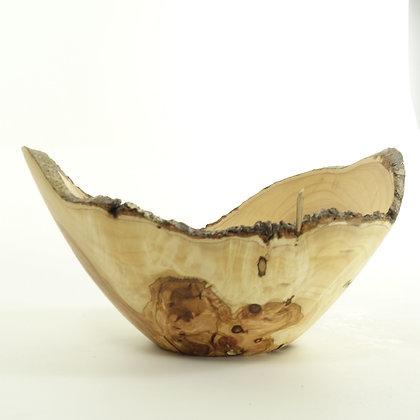 Olive wood bowl B20 live edje bowl 22x12