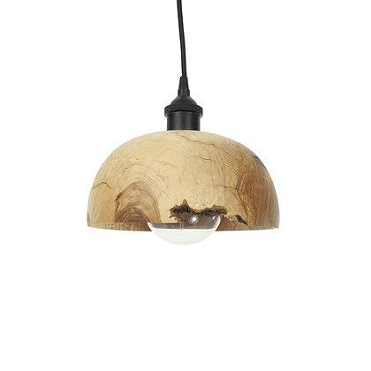 Olive wood pendant light L12