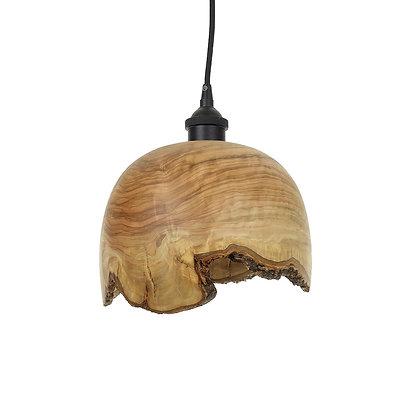 Olive wood ceiling light LB84
