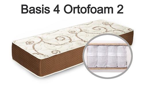 """""""Basis 4 Ortofoam 2"""". Вес до 120 кг.  Высота 21 см.  Жесткость средняя."""
