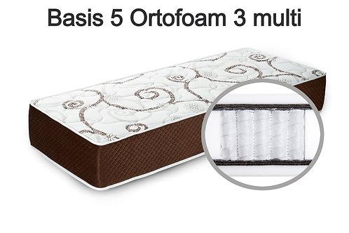Basis 5 Ortofoam 3 multi Вес до 140 кг. Высота 24 см. Жёсткость средняя.