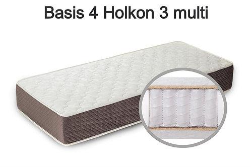 Basis 4 Holkon 3 multi Вес до 140 кг. Высота 24 см. Жёсткость средняя.