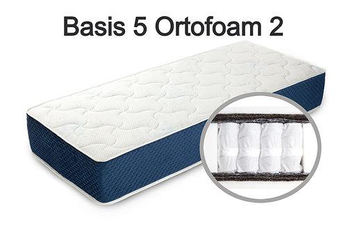 """""""Basis 5 Ortofoam 2"""". Жесткость ниже средней  Вес до 120 кг  Высота 24 см"""