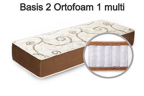 Basis 2 Ortofoam 1 multi Вес до 140 кг.  Высота 22 см.  Жесткость выше средней.