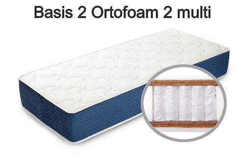Basis 2 Ortofoam 2 multi Вес до 140 кг. Высота 24 см. Жесткость жёсткий.