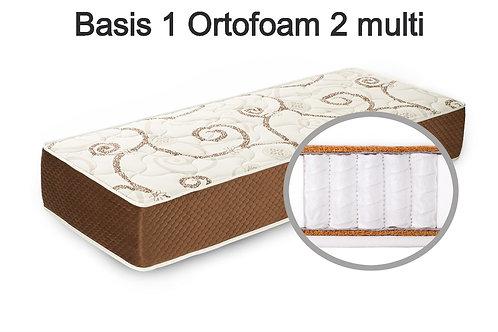 Basis 1 Ortofoam 2 multi Вес до 140 кг. Высота 22 см. Жесткость средняя.