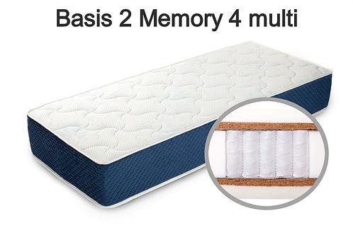 Basis 2 Memory 4 multi Вес до 140 кг. Высота 28 см. Жесткость выше средней.