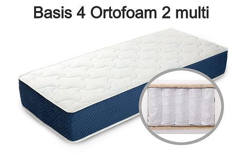 Basis 4 Ortofoam 2 multi Вес до 140 кг. Высота 22 см. Жёсткость средняя.