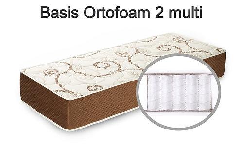 Basis Ortofoam 2 multi Вес до 140 кг.  Высота 19см.  Жесткость ниже средней.