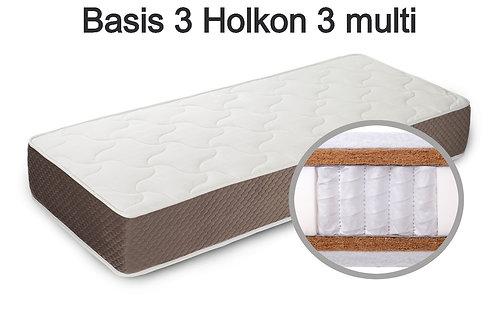 Basis 3 Holkon 3 multi Вес до 140 кг. Высота 28 см. Жёсткость жёсткий.