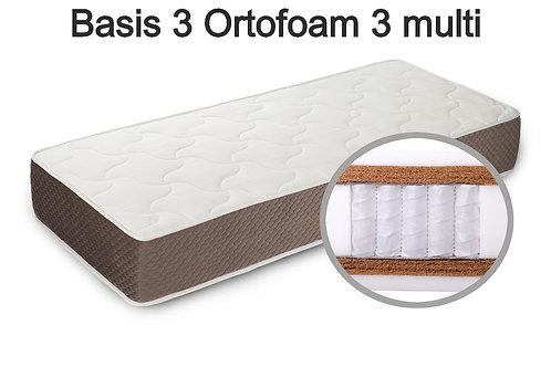 Basis 3 Ortofoam 3 multi Вес до 140 кг. Высота 28 см. Жёсткость жёсткий.