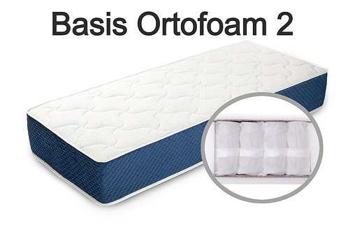 """""""Basis Ortofoam 2"""".  - Вес до 120 кг.  Высота 19 см.  Жесткость ниже средней."""