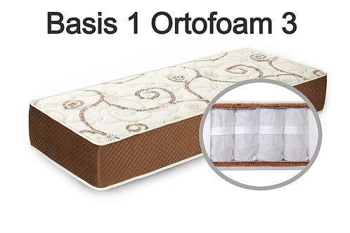 """""""Basis 1 Ortofom 3"""". Вес до 120 кг.  Высота 23 см.  Жесткость средняя."""
