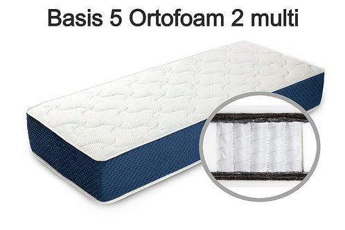 Basis 5 Ortofoam 2 multi Вес до 140 кг. Высота 22 см. Жёсткость средняя.
