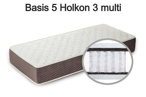 Basis 5 Holkon 3 multi Вес до 140 кг. Высота 24 см. Жёсткость средняя.