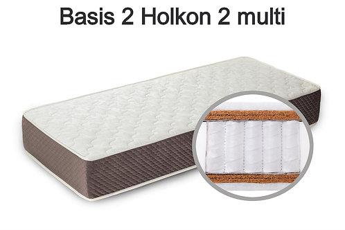 Basis 2 Holkon 2 multi Вес до 140 кг. Высота 24 см. Жёсткость выше средней.