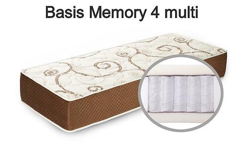 Basis Memory 4 multi Вес до 140 кг. Высота 24 см. Жёсткость низкая.