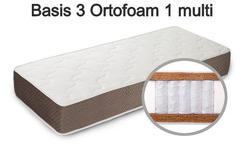 Basis 3 Ortofoam 1 multi Вес до 140 кг. Высота 24 см. Жёсткость жёсткий.