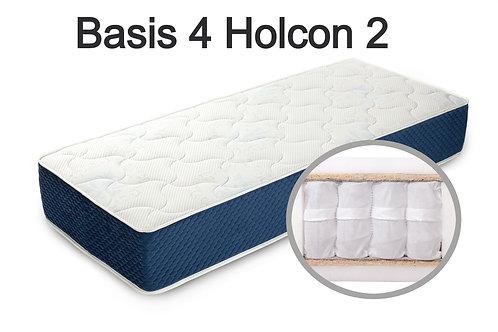 """""""Basis 4 Holcon 2"""". Вес до 120 кг.  Высота 21 см.  Жесткость средняя."""