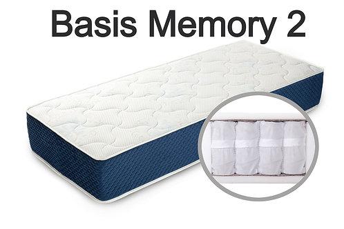 """""""Basis Memory 2"""". Вес до 120 кг.  Высота 20 см.  Жесткость ниже средней."""