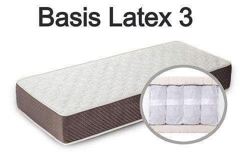 """""""Basis Latex 3"""". Вес до 120 кг.  Высота 21 см.  Жесткость низкая."""