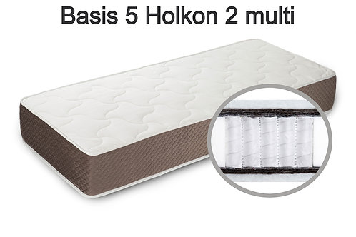 Basis 5 Holkon 2 multi Вес до 140 кг. Высота 22 см. Жёсткость средняя.
