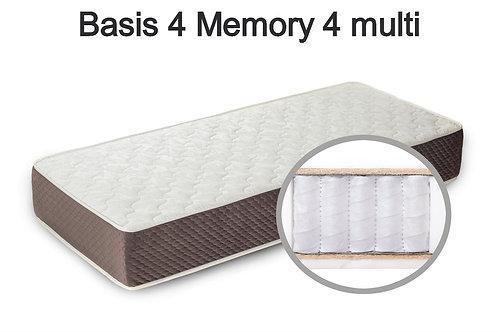 Basis 4 Memory 4 multi Вес до 140 кг. Высота 26 см. Жёсткость средняя.