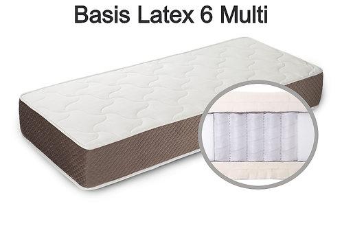 Basis Latex 6 multi Вес до 140 кг. Высота 28 см. Жёсткость низкая.