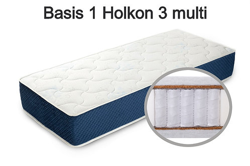 Basis 1 Holkon 3 multi Вес до 140 кг. Высота 24 см. Жесткость средняя.