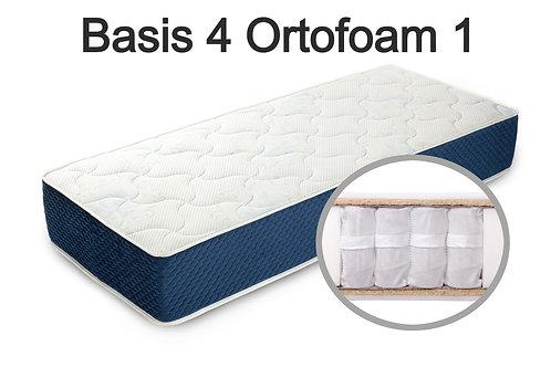 """""""Basis 4 Ortofoam 1"""". Вес до 120 кг.  Высота 19 см.  Жесткость: средняя"""
