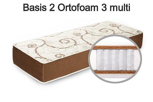 Basis 2 Ortofoam 3 multi Вес до 140 кг. Высота 26 см. Жёсткость выше средней.
