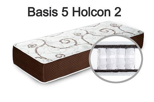 """""""Basis 5 Holcon 2"""". Жесткость средняя  Вес до 120 кг  Высота 22 см"""