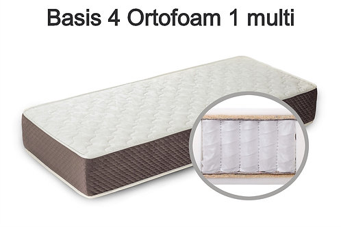 Basis 4 Ortofoam 1 multi Вес до 140 кг. Высота 20 см. Жёсткость средняя.