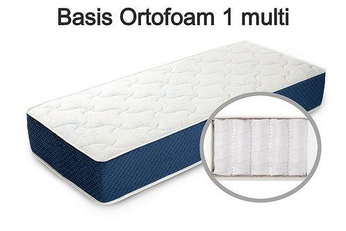 BasisOrtofoam 1 multi Вес до 140 кг.  Высота 17см.  Жесткость ниже средней.