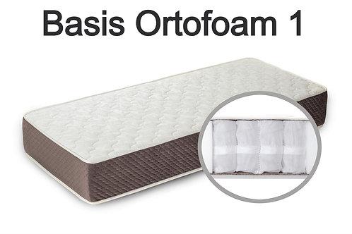 """""""Basis Ortofoam 1"""".   Жесткость ниже средней.  Вес до 120 кг.  Высота 17 см."""