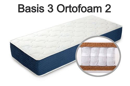 """""""Basis 3 Ortoform 2"""". Вес до 120 кг.  Высота 26 см.  Жесткость: высокая."""