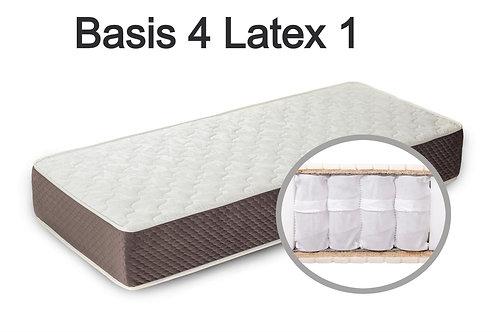 """""""Basis 4 Latex 1"""". Вес до 120 кг.  Высота 19 см.  Жесткость средняя."""