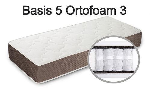 """""""Basis 5 Ortofoam 3"""". Жесткость ниже средней  Вес до 120 кг  Высота 24 см"""